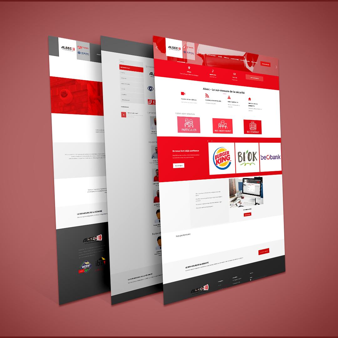 Site Web Alsec